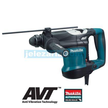 Перфоратор Makita HR3210C 850W, 32 мм, SDS - Plus, AVT
