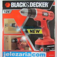Акумулаторна Бормашина Black & Decker EPC12CAB  12 V + Втора Батерия