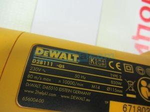 Ъглошлайф DeWALT D28111