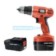 Акумулаторна Бормашина Black & Decker EPC14CAB  14,4 V + Втора Батерия