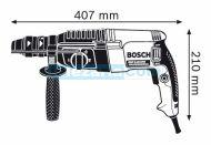 Перфоратор Bosch GBH 2-26 DFR - 800W