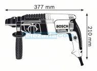 Комбиниран Перфоратор Bosch GBH 2-26 DRE SDS-Plus с шило и 3 свредла