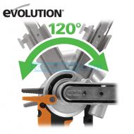 Лентов шлайф 400 W  Evolution FILESANDER2EU