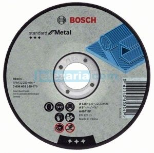 Диск за метал Bosch Standard for Metal ф230х3,0х22.23мм